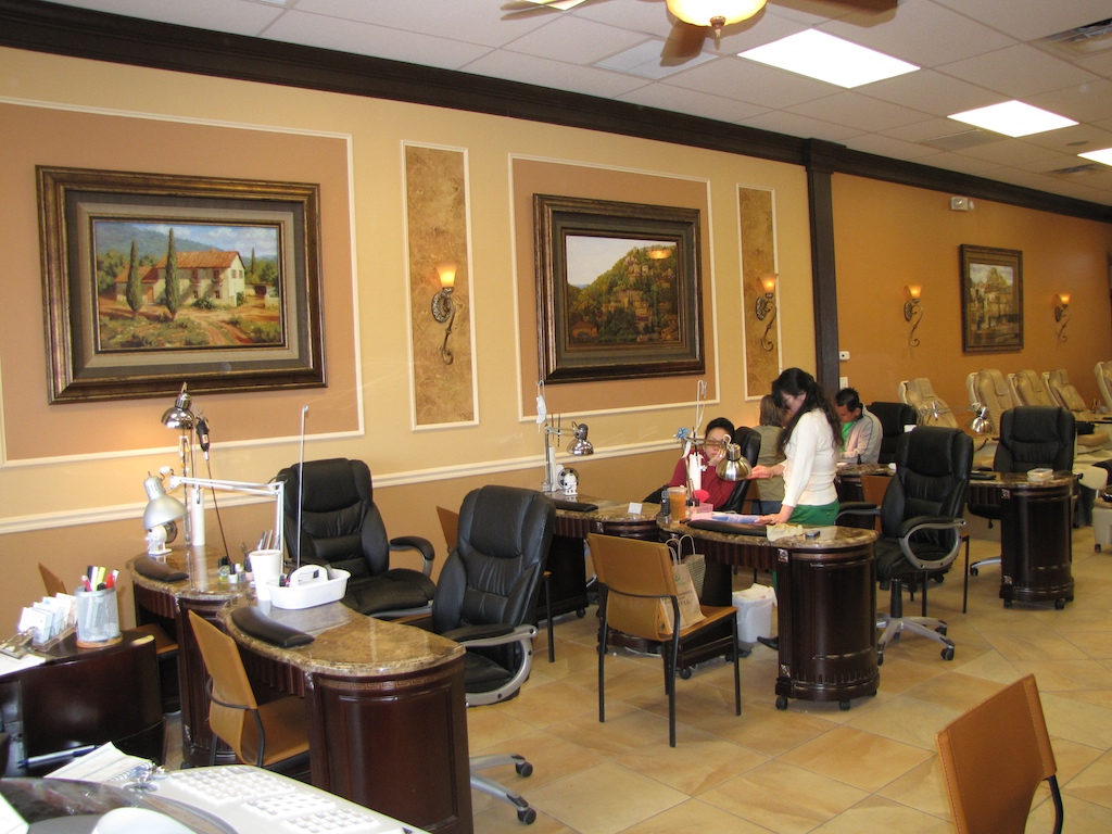 Nail Salon Interior Design Ideas As Well As Nail Salon Interior Design
