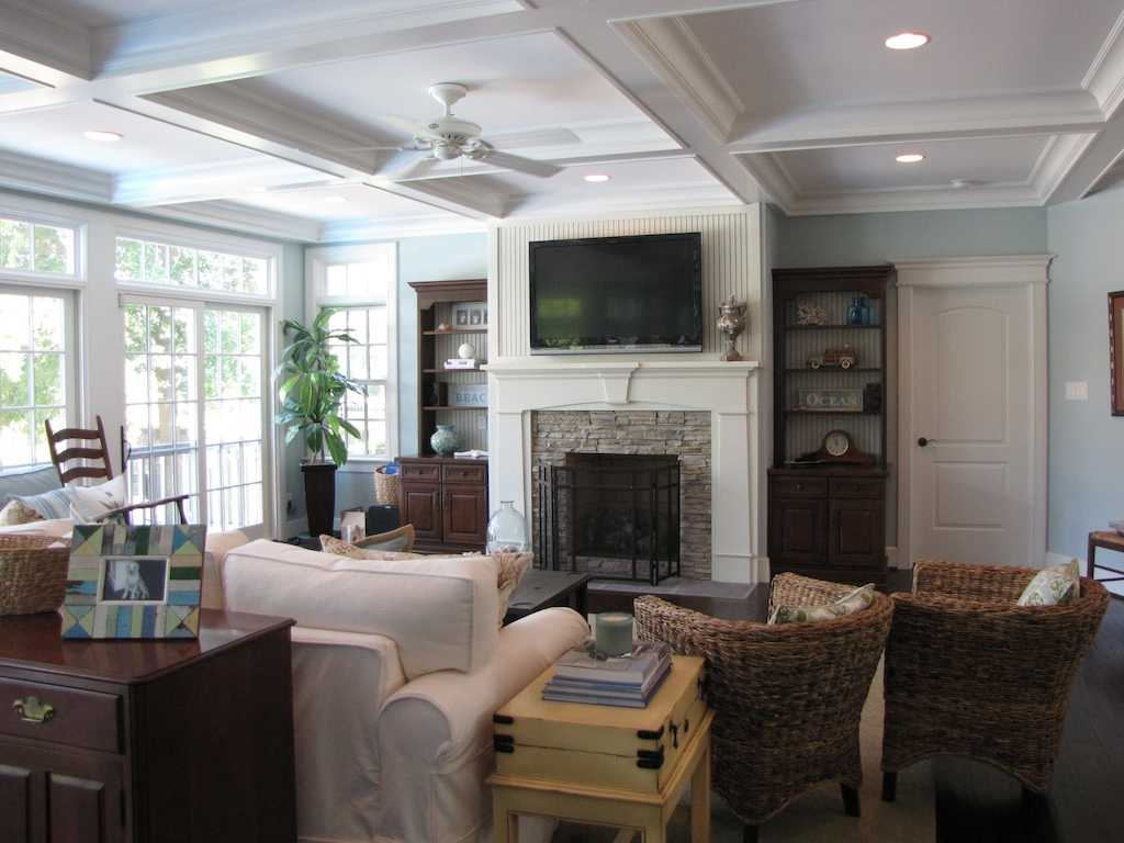 Cottage Style Family Room Ideas Part - 45: New England Style Living Room Part - 19: New England Cottage Style |  Eubankdesign